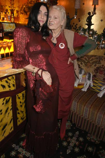 Susie Cave and Dame Vivienne Westwood