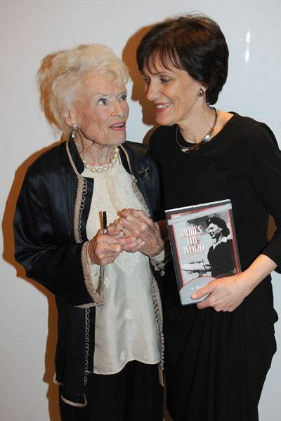 Eve Branson and Holly Peppe
