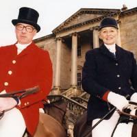 Captain Patrick Hibbert-Foy and Lady Kitson