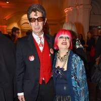 Duggie Fields and Zandra Rhodes