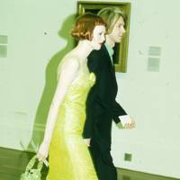 Karen Elson and Philip Treacy
