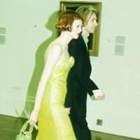 Karen Elson and Philip Treacy