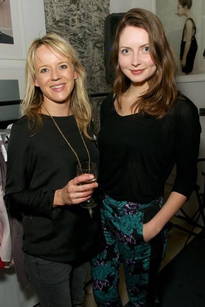Victoria Martin and Nicole Martin