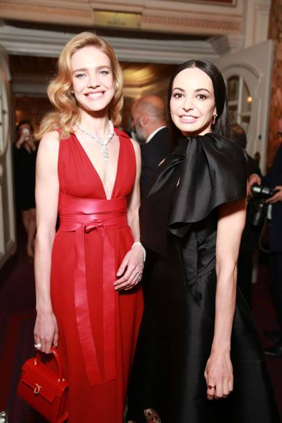 Natalia Vodianova and Diana Vishneva