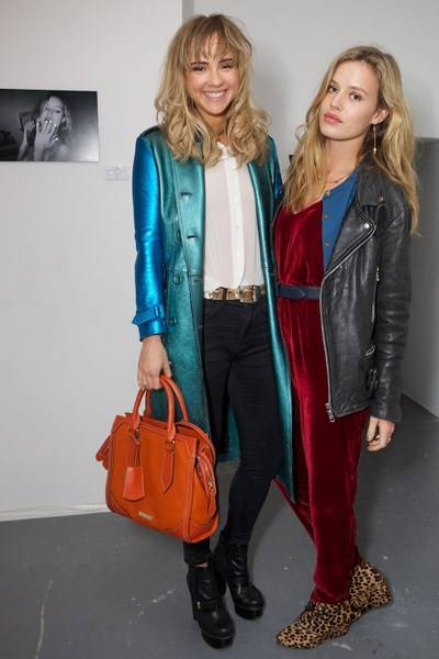 Suki Waterhouse and Georgia May Jagger