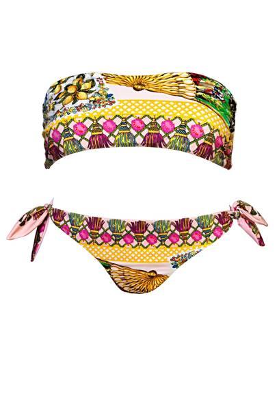 Bikini set, £335, by Dolce & Gabbana