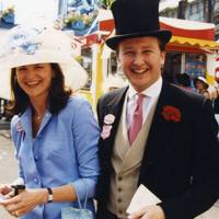 Mrs Adrian Wentworth-Stanley and Adrian Wentworth-Stanley