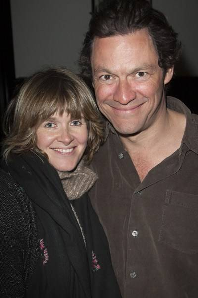 Catherine FitzGerald and Dominic West