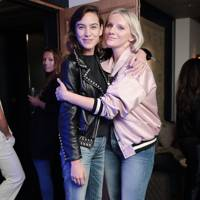 Alexa Chung and Laura Brown