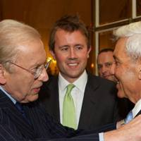 Sir David Frost, Miles Frost and David Reuben