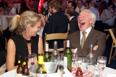 Simon Callow and Imogen Edward-Jones