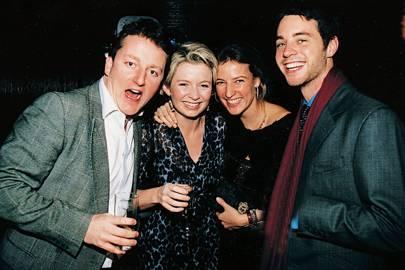 Jeremy Ward, Mrs Jeremy Ward, Mrs Jamie Carter and Harry Langton