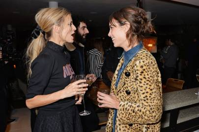 Laura Bailey and Alexa Chung