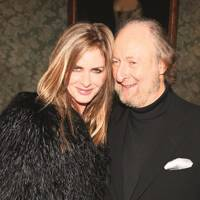 Trinny Woodall and Ed Victor