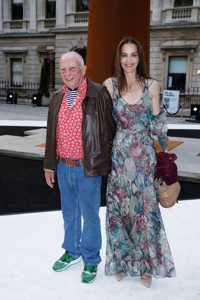 David Bailey and Catherine Dyer