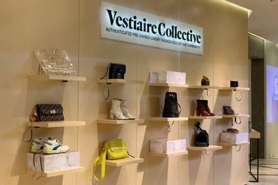 37cc4da8b2a8 Vestiaire Collective launch luxury vintage pop-up shop in Selfridges ...