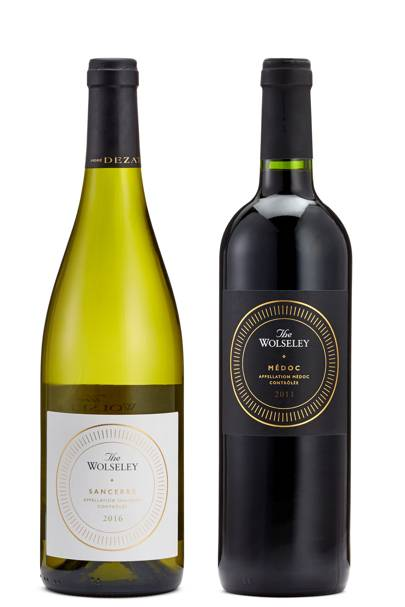 The Wolseley Médoc 2011 and The Wolseley Sancerre 2016
