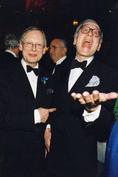 John Gummer and Lord Chadlington