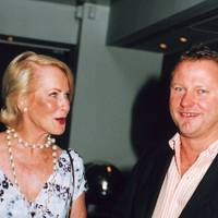 Mrs Rupert Hambro and Nick Jones