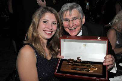 Emily Asprey and Willie Carson