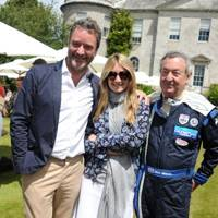 James Seymour, Anya Hindmarch and Nick Mason