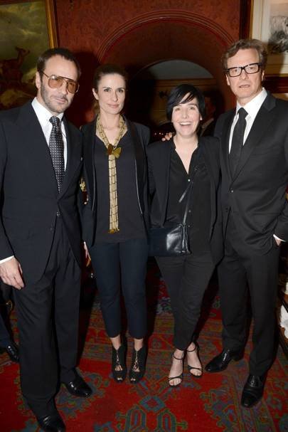Tom Ford, Livia Firth, Sharleen Spiteri and Colin Firth
