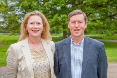 Katie Stewart and Johnny Stewart