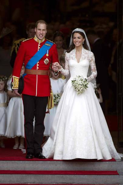 Prince William's marriage to Catherine Middleton, 2011