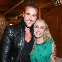 Phillipp Plein and Franca Sozzani