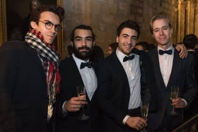 Augustin Touflet, Nicolò Gentili, Marco Busoni and Erling Borén