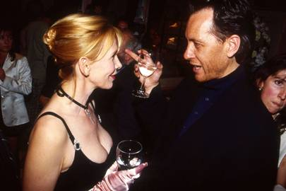Trudie Styler and Richard E. Grant