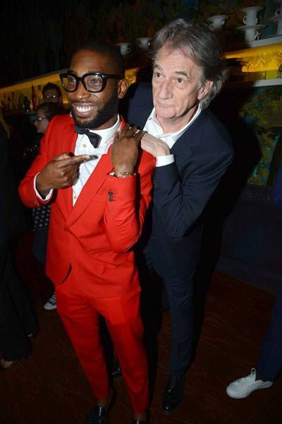 Tinie Tempah and Sir Paul Smith