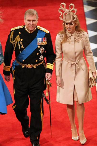 The Duke of York and Princess Beatrice