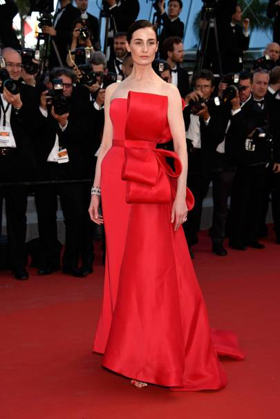 Erin O'Connor wearing Ralph & Russo Haute Couture in 2015