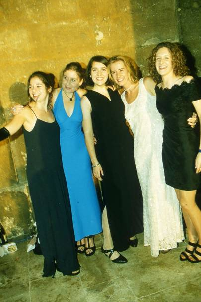 Rebecca Onezime, Jane Labous, Jane Casey, Ellen Saunders and Aliza Gaon