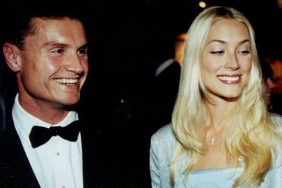 David Coulthard and Heidi Wichlinski