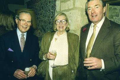 Earl Bathurst, Countess Bathurtst and Michael Todhunter
