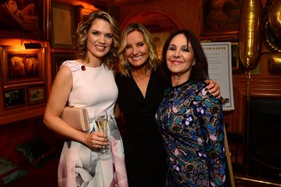 Charlotte Hawkins, Jacquie Beltrao and Arlene Phillips