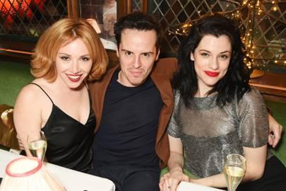 Daisy Lewis, Andrew Scott and Jessica De Gouw