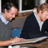 Charlie Gilkes and Luke Blackall