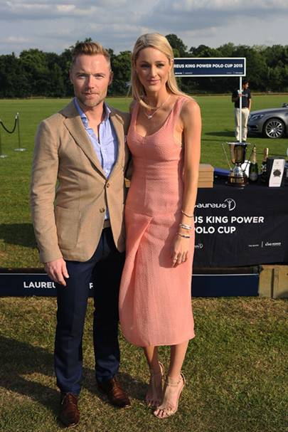 Ronan Keating and Storm Laurus