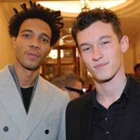 Charlie Casely-Hayford and Callum Turner