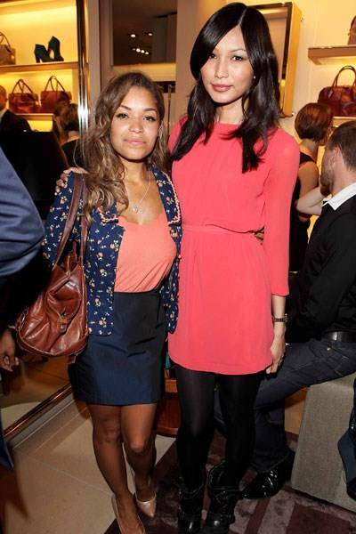 Antonia Thomas and Gemma Chan