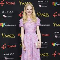 Wearing Carolina Herrera at the AACTA International Awards, 2018