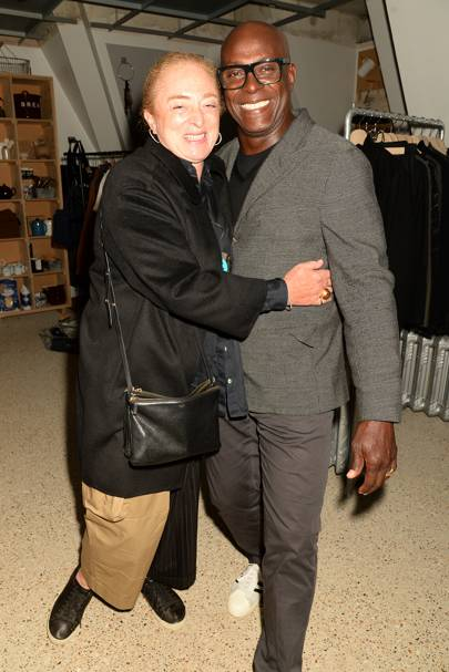 Camilla Lowther and Charles Aboah