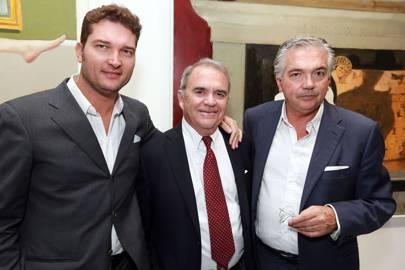 Christian Contini, Julio Larraz and Stephano Contini