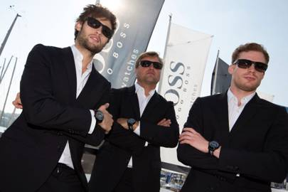 Douglas Booth, Alex Thomson and Sam Reid