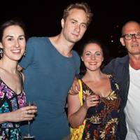 Jo Dockery, Oliver Chris, Sarah Annis and Andrew Woodall