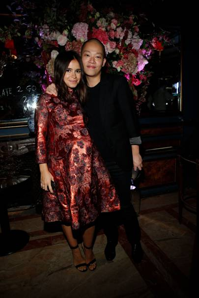 Miroslava Duma and Jason Wu