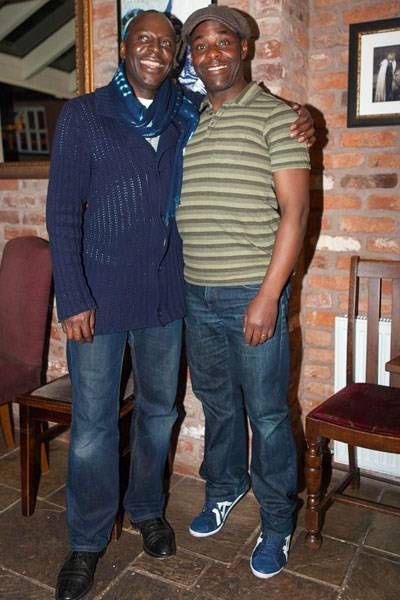 Cyril Nri and Paterson Joseph